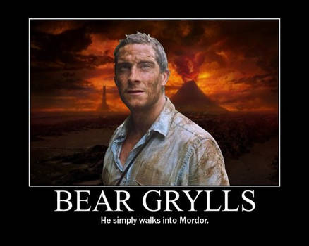 Motivational - Bear Grylls