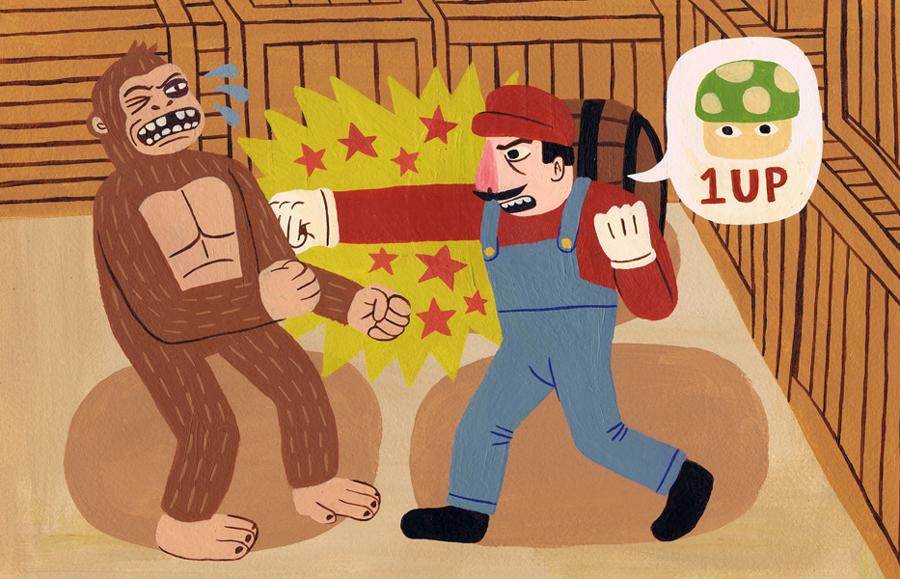 Mario Vs Donkey Kong by Teagle