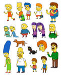 Simpsons drawn from memory