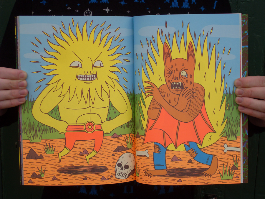 Nobrow 4: Night and Day by Teagle