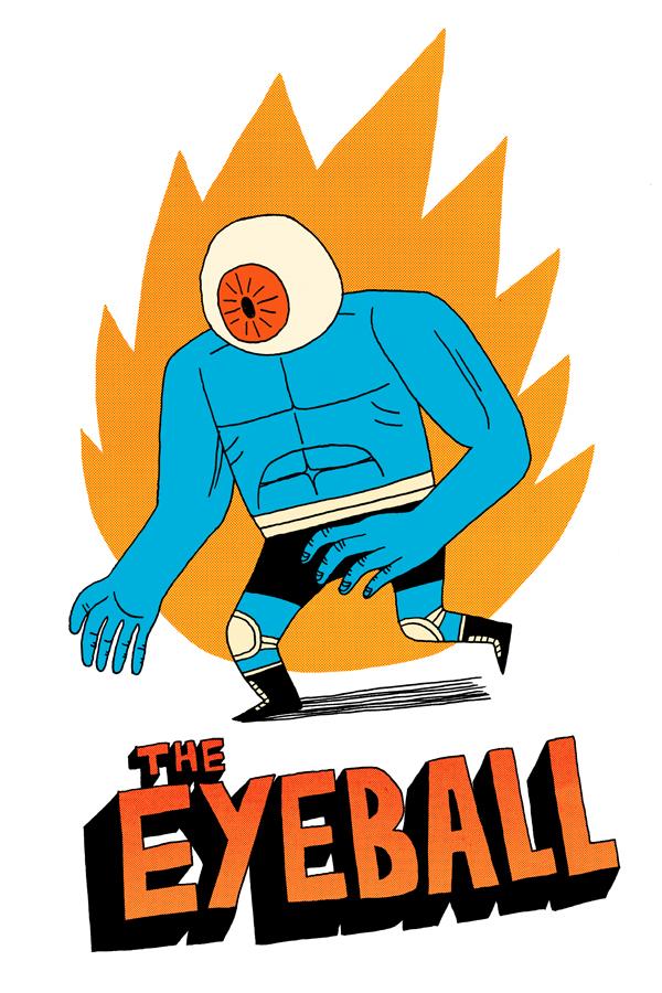 The Eyeball- Fight Villain by Teagle
