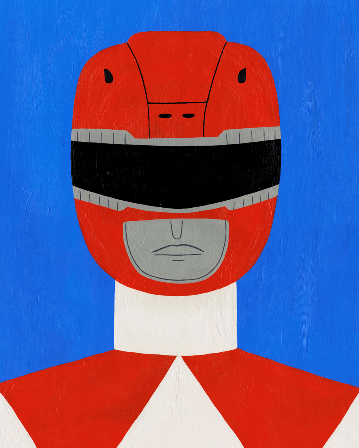Red Ranger by Teagle