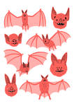 Bats Risograph
