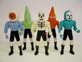 Wrestling Action Figures 4