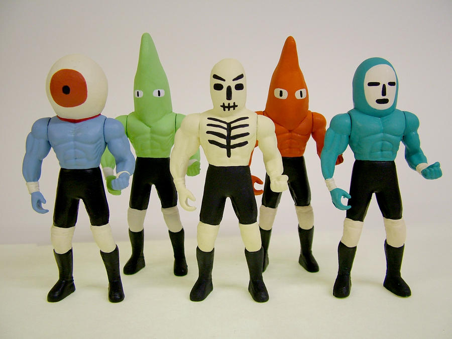Wrestling Action Figures 4