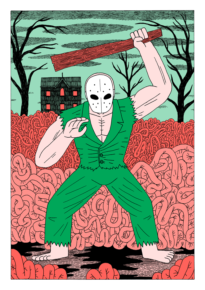 Splatterhouse by Teagle