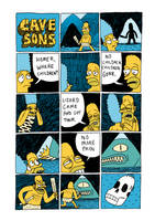 The Cavesons Comic by Teagle