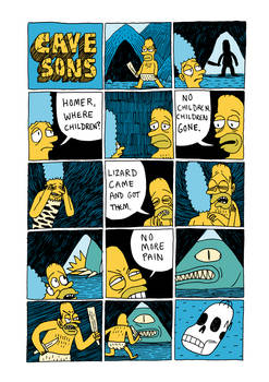 The Cavesons Comic