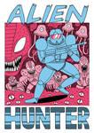 Alien Hunter - Tshirt design