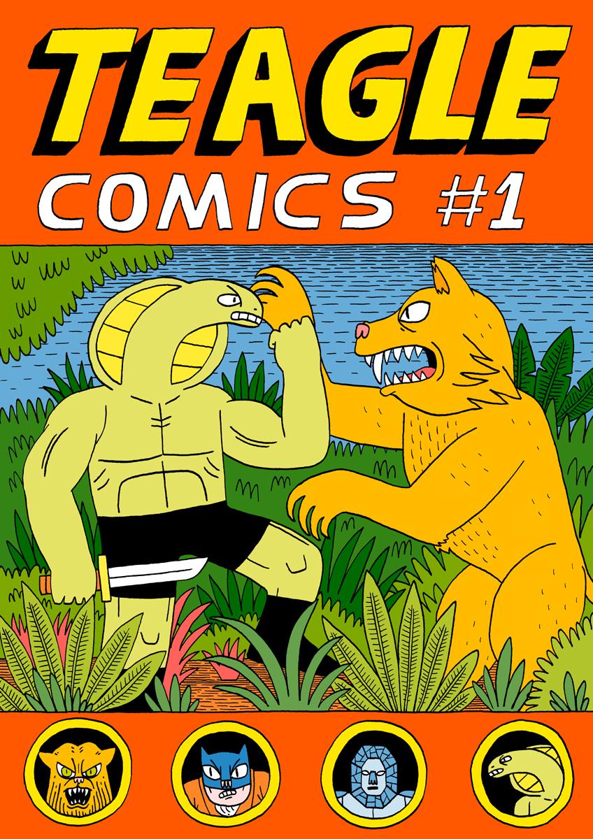 Teagle Comics #1 by Teagle