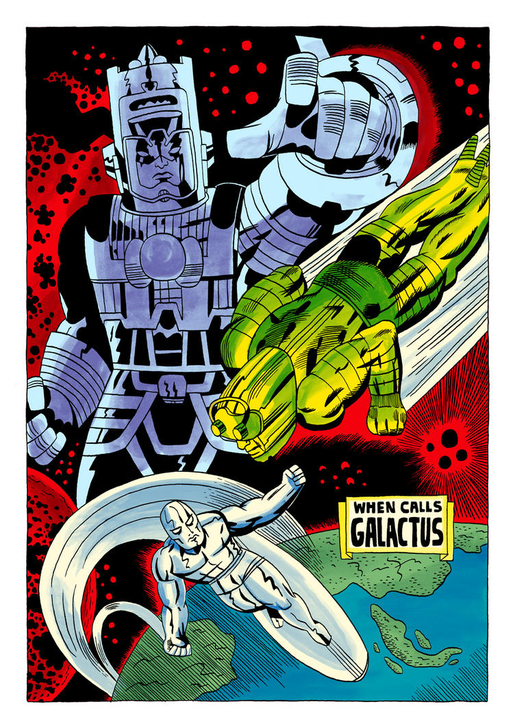 Fantastic Four #74 Redraw by Teagle