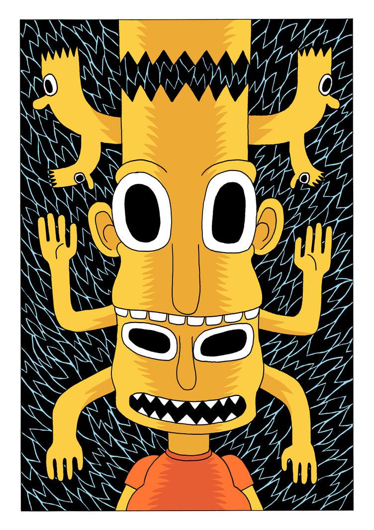 Cartoon Totem by Teagle