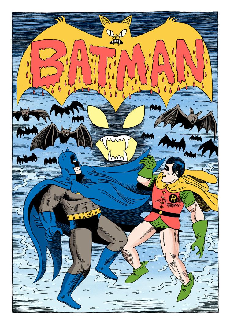 Batman 349 Cover by Teagle