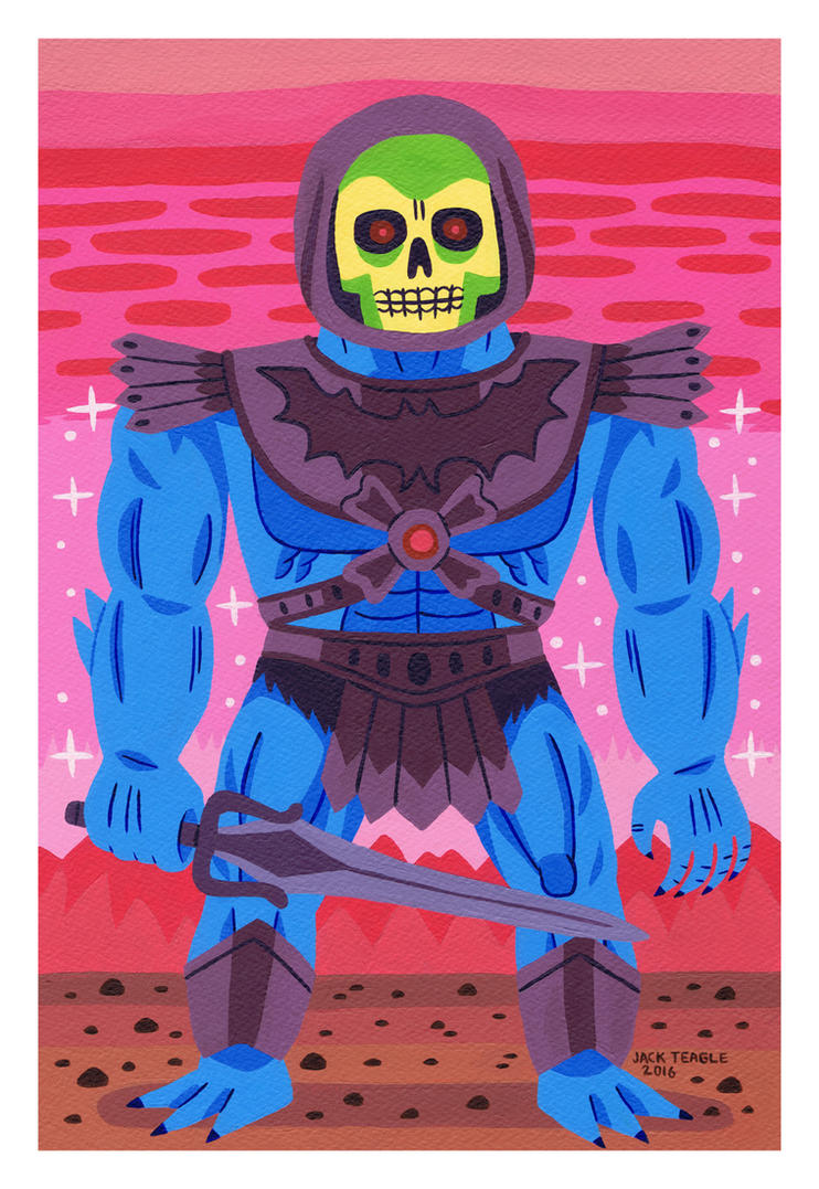 Skeletor by Teagle