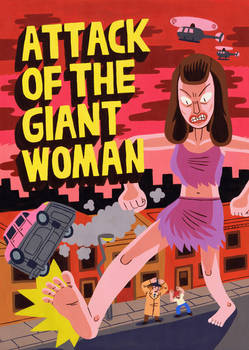 Attack of the Giant Woman