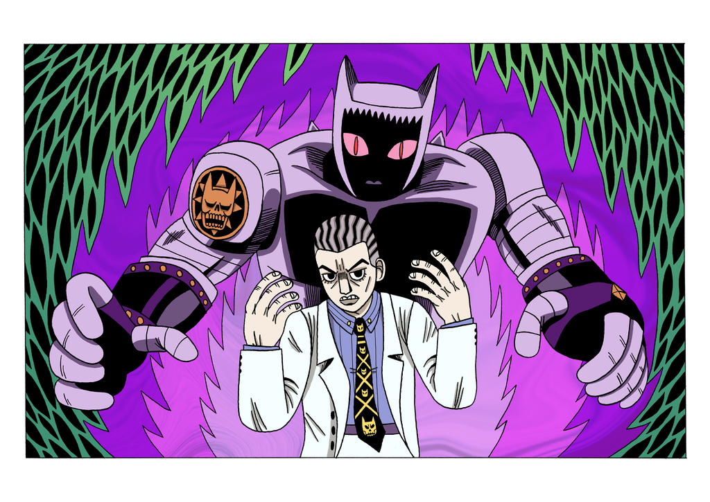 Yoshikage Kira And Killer Queen By Teagle On Deviantart