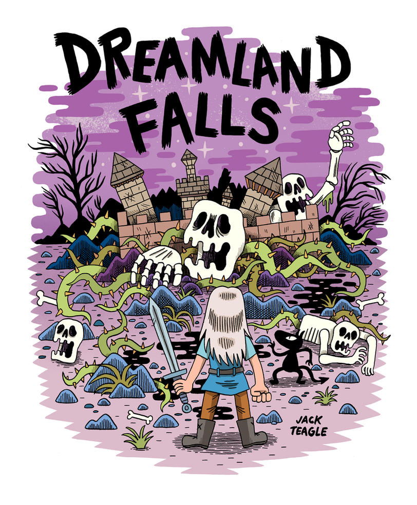 Dreamland Falls - Disenchantment by Teagle