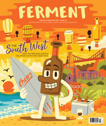 Ferment Magazine Cover by Teagle