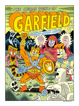 The Savage World of Garfield by Teagle