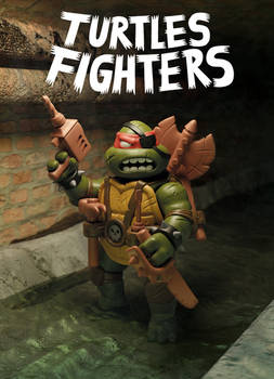 TURTLES FIGHTERS - ACTION FIGURE