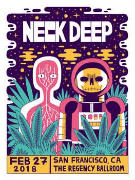 Neck Deep - The Regency Ballroom CA 2018