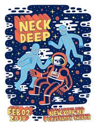 Neck Deep - Playstation theater NY 2018