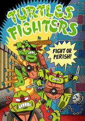 Turtles Fighters Cover