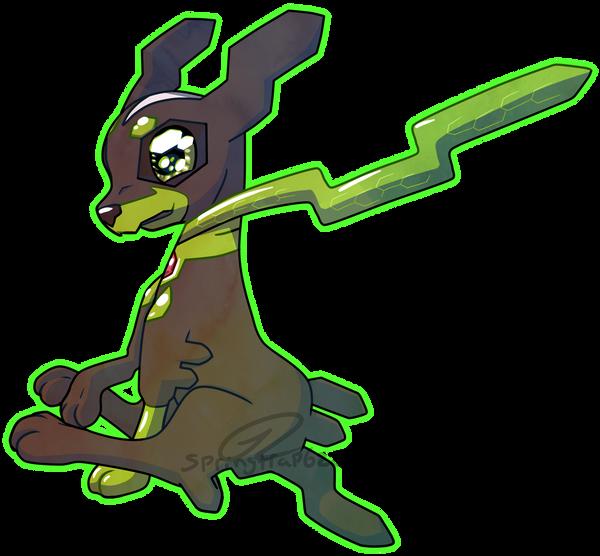 Chibi Pokemon - Zygard 10% Form by TaylorTrap622 on DeviantArt