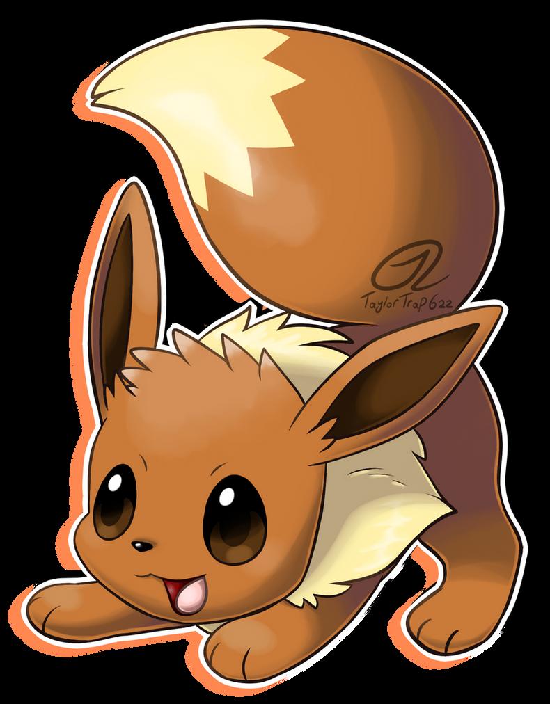 Pokemon Fan Art Eevee 622298582