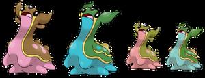 Pokemon Fan Art - Gastrodon by TaylorTrap622