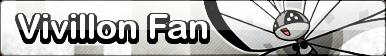 Vivillon (Icy Snow) Fan Button - (Free to Use)