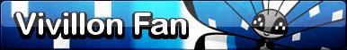 Vivillon (Polar) Fan Button - (Free to Use)