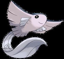 Beta Pokemon - Haneei (Beta Mantine) by TaylorTrap622