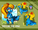 Dino Taylor - Ref Sheet 2018