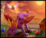Fanart - Spyro the Dragon
