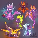 Spyro Doodles - Abilities