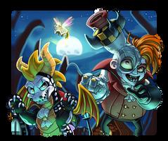Spyro and N. Gin - Halloween (2020)