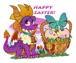 Spyro - Easter 2021 by TaylorTrap622