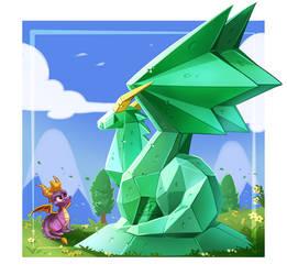 Spyro the Dragon #DATutorialDragon