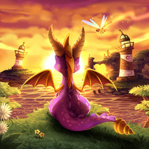 Spyro the Dragon - #DATutorialCreatureWing