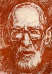 Mircea Eliade by bogdantzigan