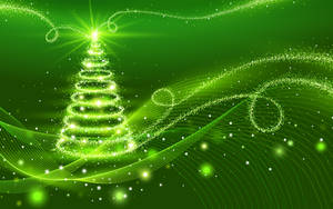 Green Xmas Tree by dodozhang21