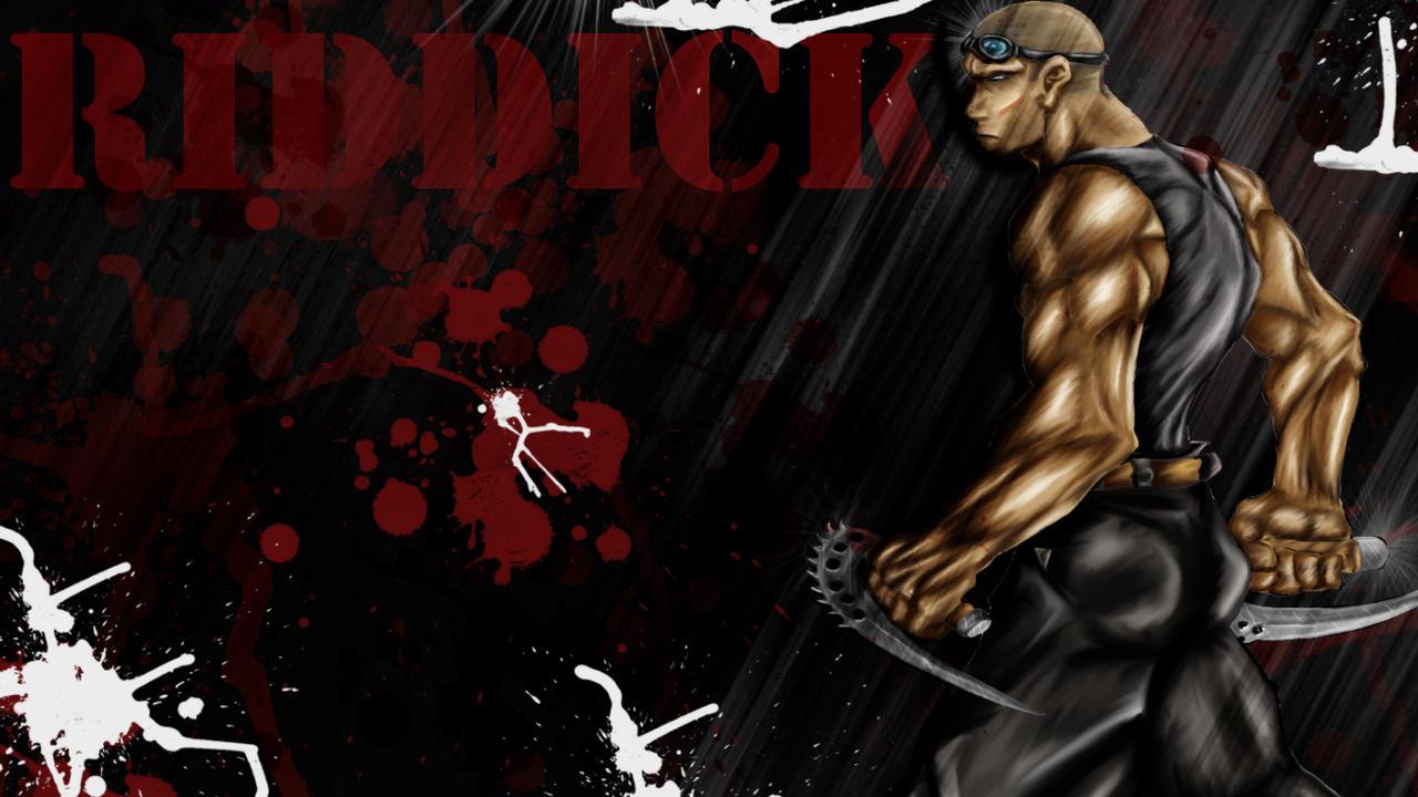 Riddick Wallpaper by Shamblin85 on DeviantArt