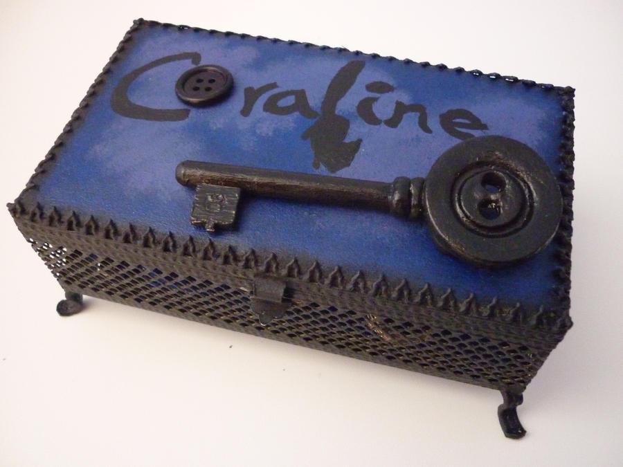 Coraline Jewelry Box By Thisishalloweentown On Deviantart