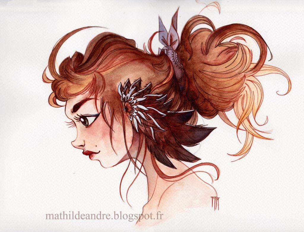 Elise's wings by MathildeAndre