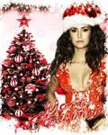 Nina Dobrev Christmas Manip
