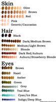Human Color Palette (Remastered)