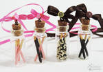 Pockey Bottle Necklaces in Four Flavours