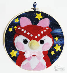 Celeste in the Stars - Embroidery Hoop