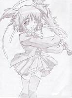 Anime Girl by inuyasha1010
